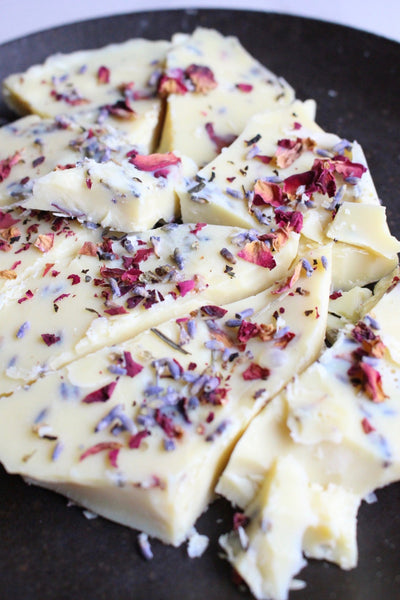 Lavender Rose Love Bark Recipe