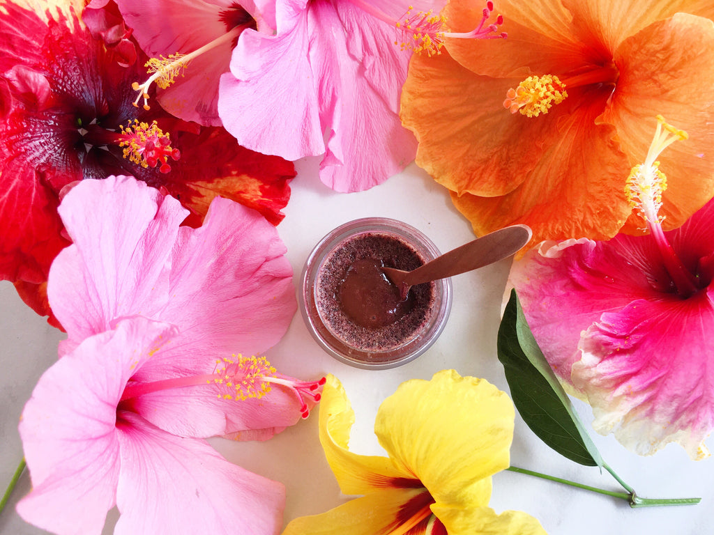 Happy spring national flower day leahlani skincare not only is hawaiis state flower the yellow hibiscus but each hawaiian island has a designated flower izmirmasajfo Image collections