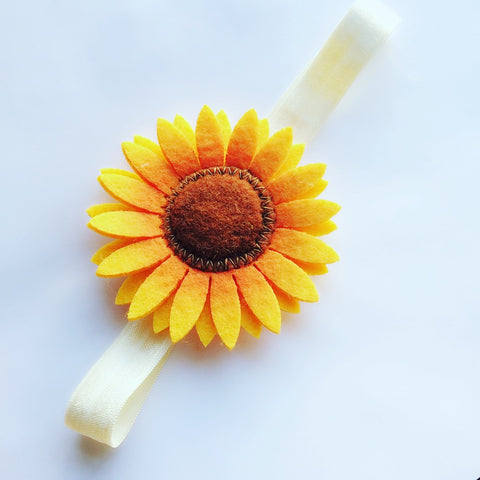 Fall Flower Headband