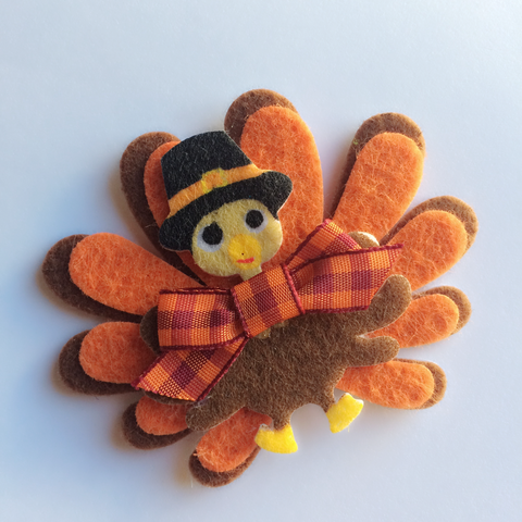 Pilgrim Turkey Hair Clip