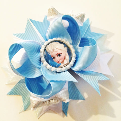 Queen Elsa Hair Bow