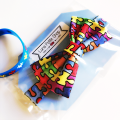 Autism Awareness Bow tie