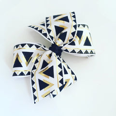 Abstract Hair Bow