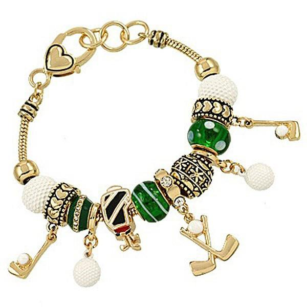 "*[B/L]-Metallic Golf Charm Bracelet- 2 Options - jewelz by julz...""The Collection!"""