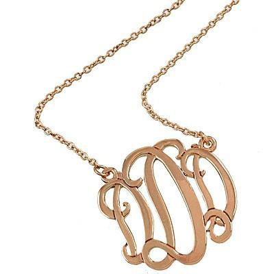 "*[N/L]-Monogram Necklace ~D~ RoseGoldtone - jewelz by julz...""The Collection!"""