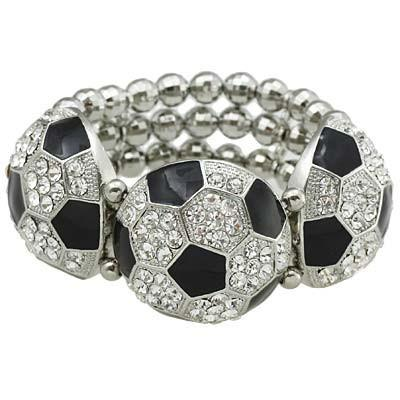 "*[B/L]-Soccer Bling Statement Bracelet - jewelz by julz...""The Collection!"""