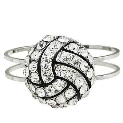 "*[B/L]-Bling Baller Volleyball Bangle - jewelz by julz...""The Collection!"""