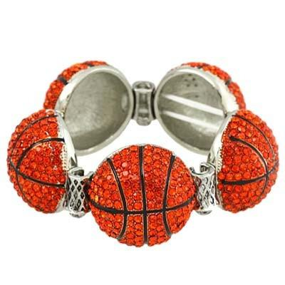 "*[B/L]-Bling Bling Large Basketball Charm Bracelet - jewelz by julz...""The Collection!"""