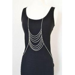 "*[B/J]-Silvertone Under-Exaggerated Body Chain - jewelz by julz...""The Collection!"""