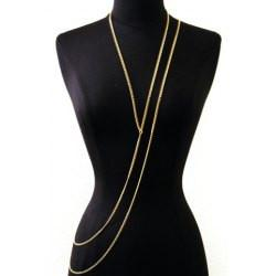 "*[B/J]-Goldtone Metallic Sash Body Chain - jewelz by julz...""The Collection!"""