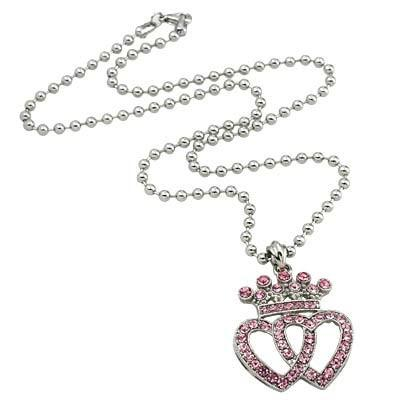 "*[N/L]-Crown & Hearts Pendant Necklace - jewelz by julz...""The Collection!"""