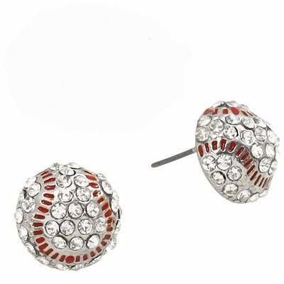 "*[E/R]-Baseball Bling Post Earrings - jewelz by julz...""The Collection!"""