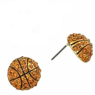 "*[E/R]-Bling Basketball Stud Earrings - jewelz by julz...""The Collection!"""