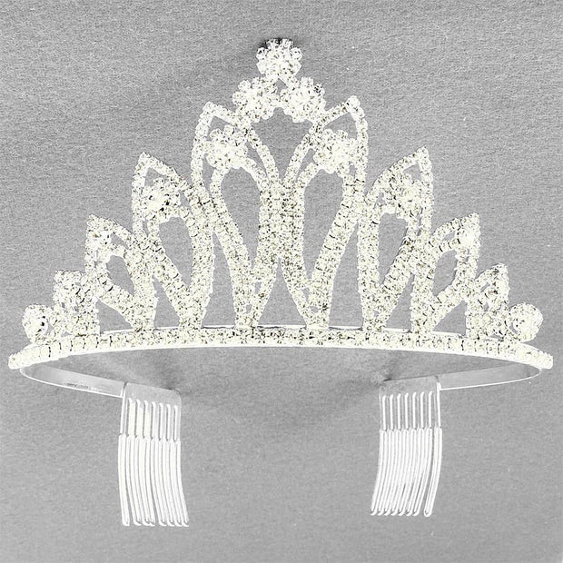 "*[HPC]-The Rhinestone Pear Shaped Statement Tiara - jewelz by julz...""The Collection!"""