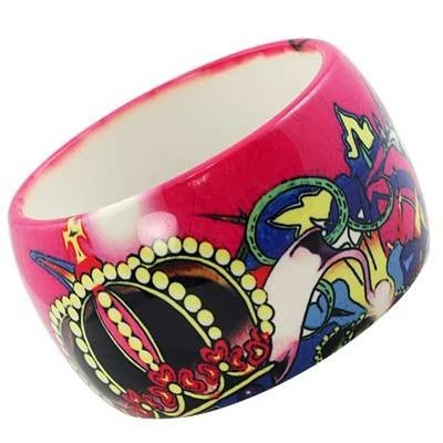 "*[B/L]-Tattoo Print Bangle - jewelz by julz...""The Collection!"""