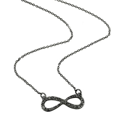 "*[N/L]-Hematite Infinity Pendant Necklace - jewelz by julz...""The Collection!"""