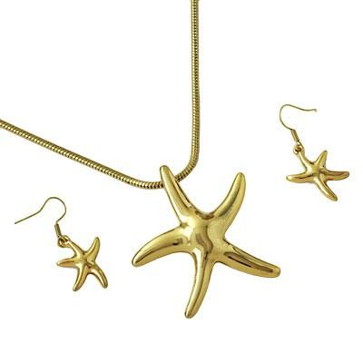 "*[N/LS]-Goldtone Casting Star Fish - jewelz by julz...""The Collection!"""