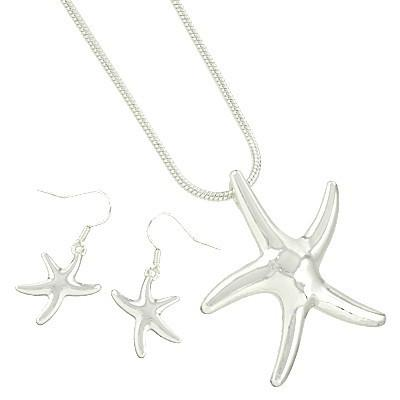 "*[N/LS]-Silver Casting Star Fish - jewelz by julz...""The Collection!"""