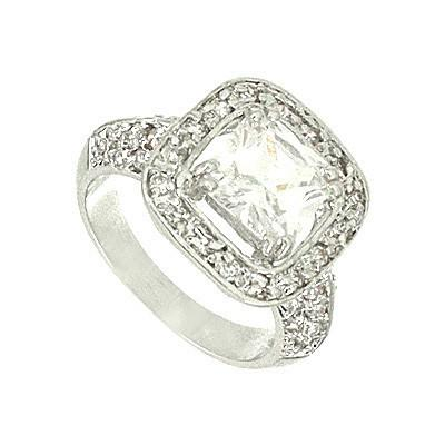 "*[R]-Engagement Ring- Square Size 9 - jewelz by julz...""The Collection!"""
