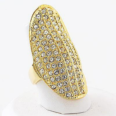 "*[R]-Gold Rhinestone Statement Ring - jewelz by julz...""The Collection!"""