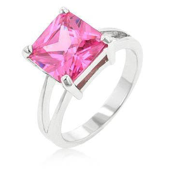 "*[R]-Square Pink Ice Engagement Ring - jewelz by julz...""The Collection!"""