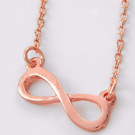 "*[N/L]-Rosegold Infinity Pendant Necklace Fine - jewelz by julz...""The Collection!"""
