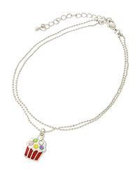 "*[ANK]-Multi-Color Cupcake Charm Anklet - jewelz by julz...""The Collection!"""