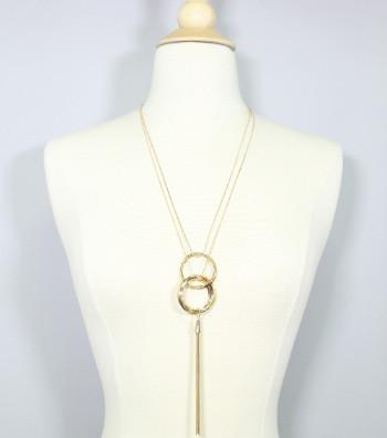 "*[N/LS]-Long Ring Tassel Pendant Necklace Set - jewelz by julz...""The Collection!"""