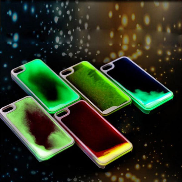 "*[ETC]-Liquid Glow-In-The Dark iPhone Clear Cases- Multiple Colors - jewelz by julz...""The Collection!"""