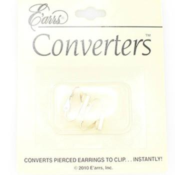 "*[ETC]-Silvertone Earring Converters - jewelz by julz...""The Collection!"""