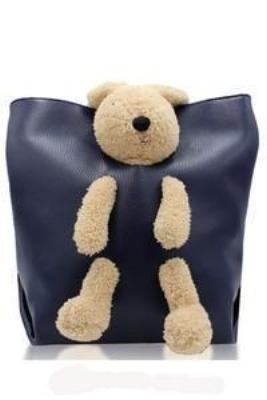 Teddy In a Bag Bucket Pocketbook - g.e.llc•Style