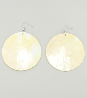 "*[E/R]-Natural Shell Drop Earrings - jewelz by julz...""The Collection!"""