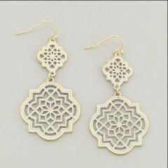 "*[E/R]-Patina Filigree Drop Earrings - jewelz by julz...""The Collection!"""