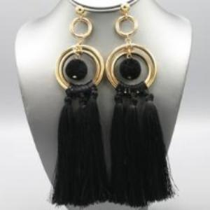 "[ER]- Statement Tassel & PomPom Drop Earrings - jewelz by julz...""The Collection!"""
