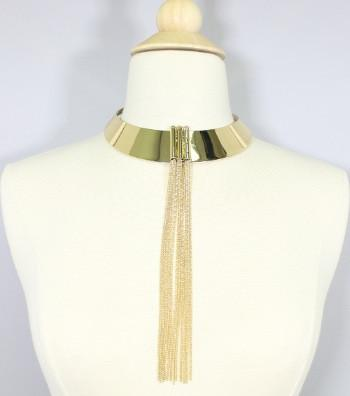 "*[N/L]-Tassel Fringe Choker Necklace - jewelz by julz...""The Collection!"""