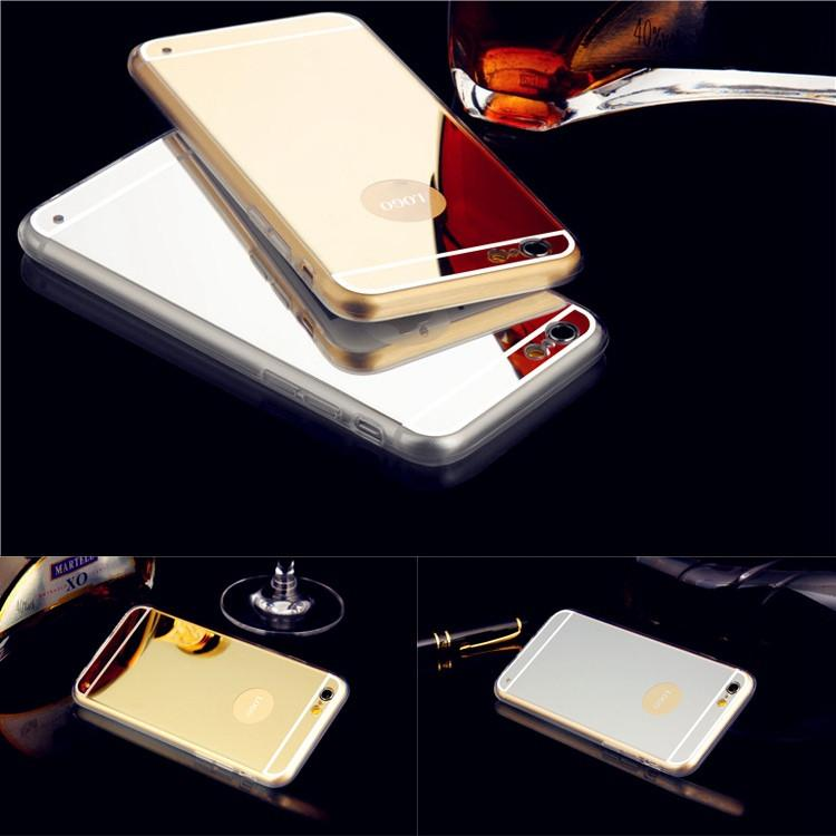 "[ETC]-Silver & Goldtone Mirrored iPhone Soft Cases - jewelz by julz...""The Collection!"""