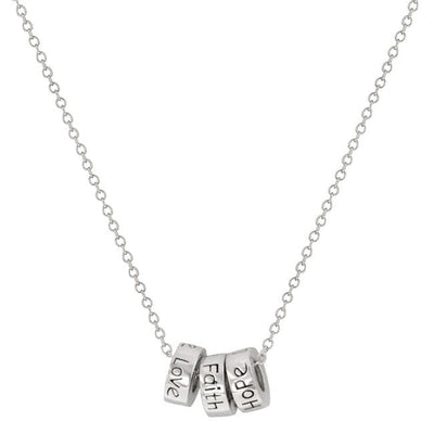 "[N/L]-Faith Hope Love Pendant Necklace - jewelz by julz...""The Collection!"""