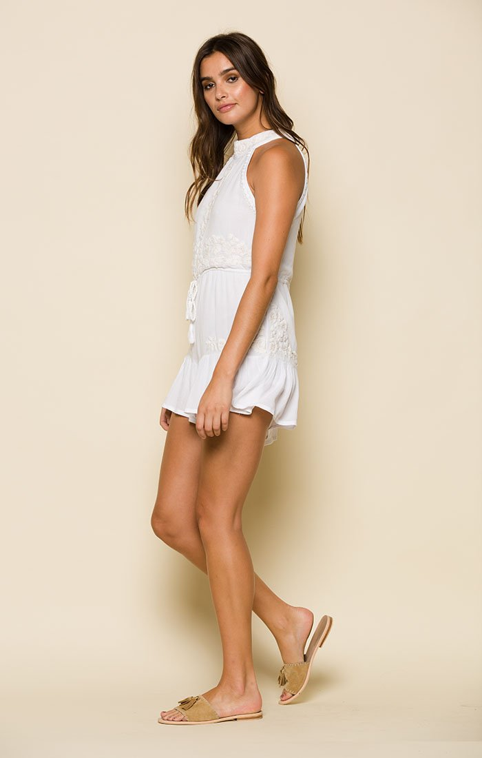 SORRENTO HIGH NECK ROMPER