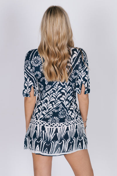 Tropic Blues Dress