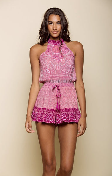MARIPOSA HIGH NECK ROMPER