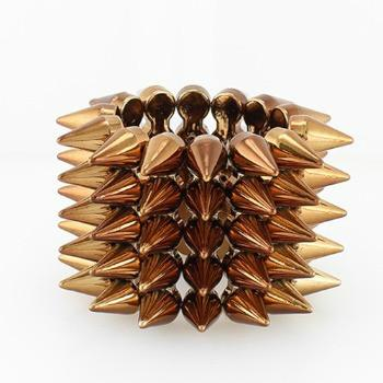 "*[B/L]-Bronzetone Throwback Wide Spike Cuff Style Bracelet - jewelz by julz...""The Collection!"""