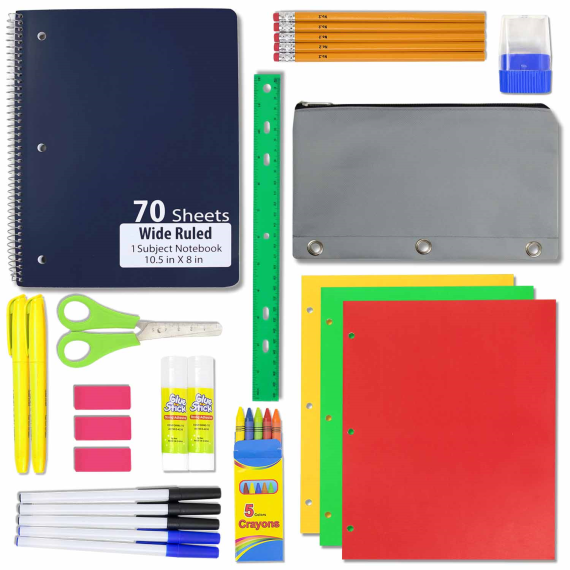 school supplies kit