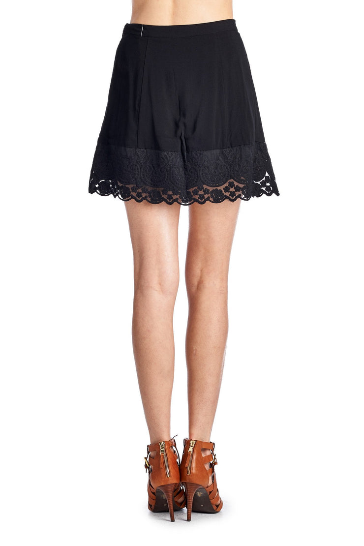Women's A-Line Crochet Skirt