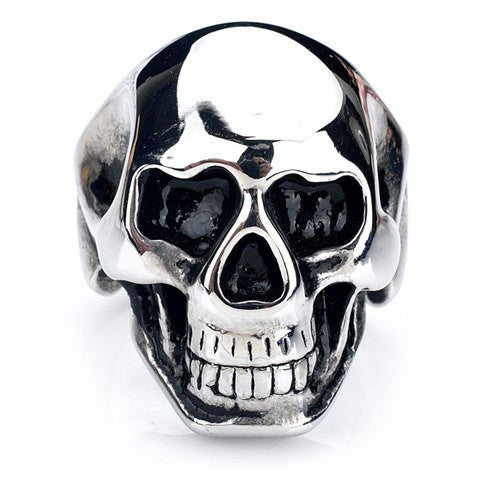 Men's Stainless Steel Skull Ring - g.e.llc•Style