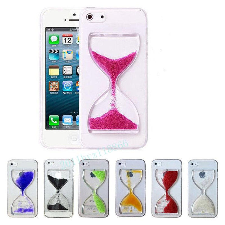 "[ETC]-Sand Timer iPhone Clear Case- Multiple Colors - jewelz by julz...""The Collection!"""