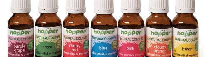 Hopper natural food colouring