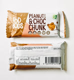 Fodbods peanut and choc chunk protein bar