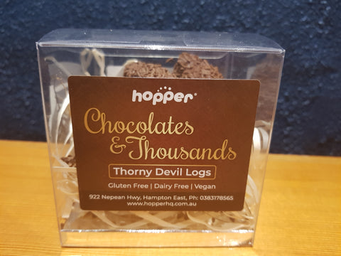 hopper Chocolates and Thousands _ Devil Logs