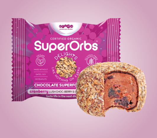 SuperOrbs Cranberry Lush Choc-Berry & Coconut