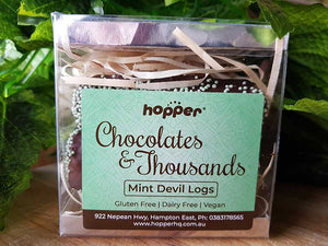 hopper Chocolate's and Thousands - Mint Devil Logs 4pk
